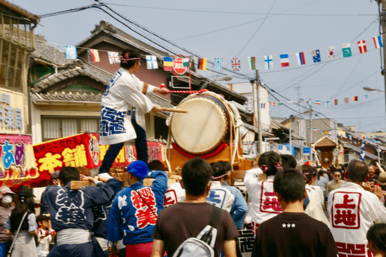 2019年福岡町蓮如まつり神輿