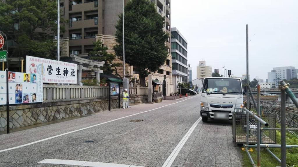 岡崎の大花火菅生神社