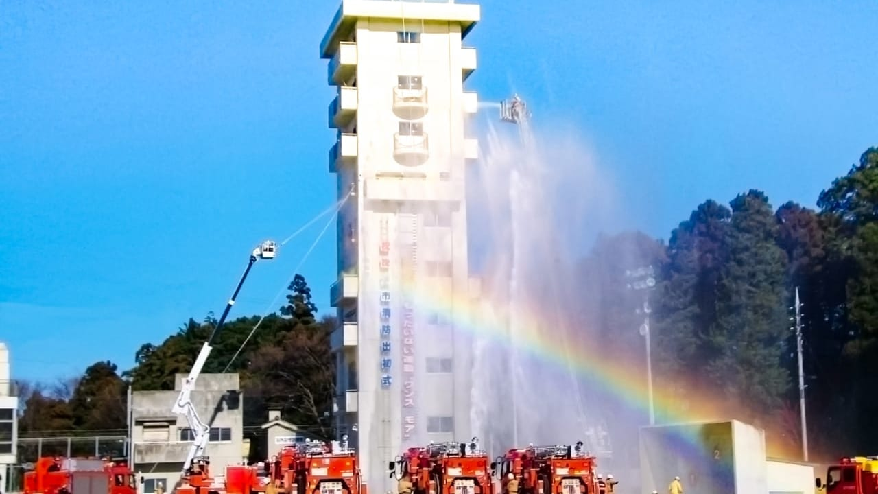 令和2年岡崎市消防出初式